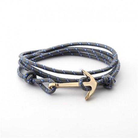 Nouveau Bracelet Ancre Marine Couple